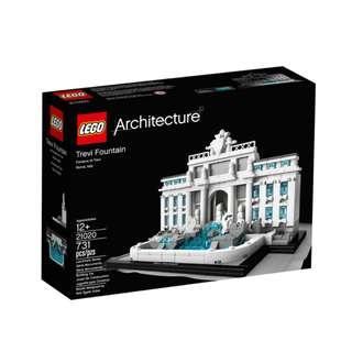 🚚 MISB Lego 21020 Trevi Fountain architecture