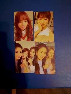 WTS izone iz*one photocards