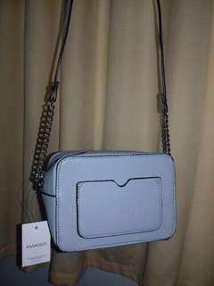 Mango Baby Blue Basic Slingbag