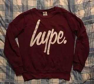 Hype 衛衣 L size