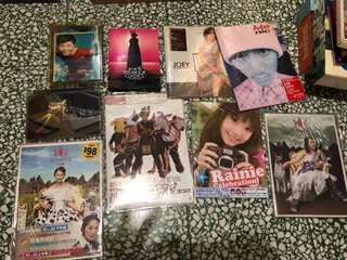 舊CD、VCD、電影(每隻$不同)