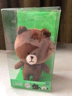 Line brown doll ORI