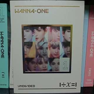 Wanna One Undivided Art Book Ver