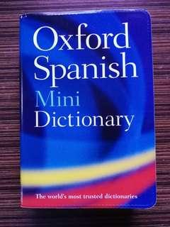 Oxford Dictionary Spanish