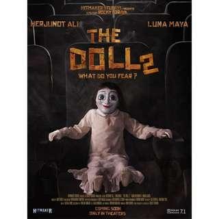 DVD Indonesian Movie The Doll 2 Two Indonesia Film Kaset Drama Horror Ghost Phantom Hantu Setan Sabrina Boneka