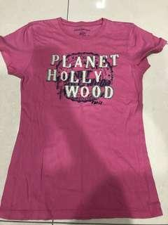 USED: Planet Hollywood Paris T-Shirt (size L)
