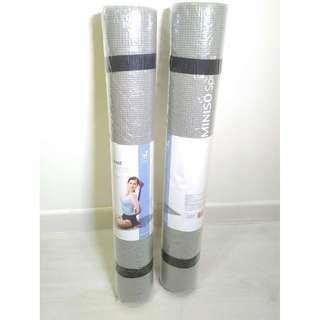MiniSo Yoga Mat, New, Gray, 173 x 61 x 0.3 cm