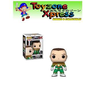 b4e9e38ef27 Power Rangers Green Ranger No Helmet Pop! Vinyl Figure ( 669)