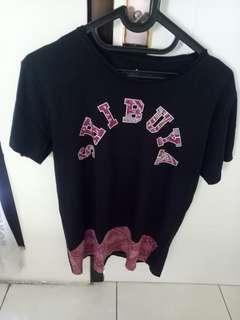 Kaos Shibuya Cotton On not Zara