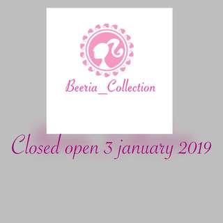 Closed open 3 january 2019
