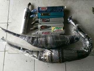 Knalpot Racing ninja150 Dan Rx king type lobster