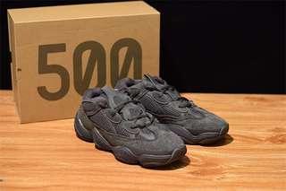 NEW Adidas YEEZY 500 Utility Black