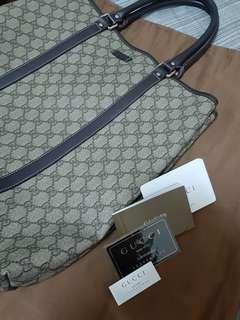 (已匯款待買家收貨) Gucci 經典PVC手提包