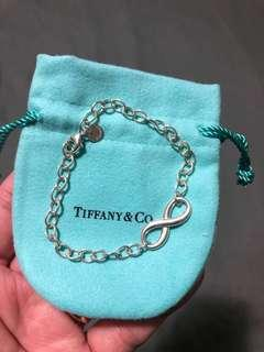 Authentic Tiffany Infinity Bracelet