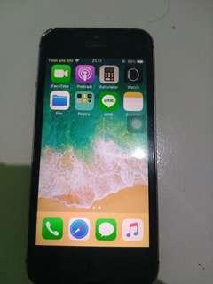 Jual  cepat iphone 5s grey 32GB