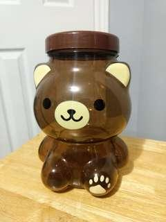 Plastic Bear Container