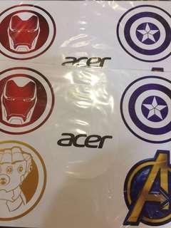 Acer Marvel sticker
