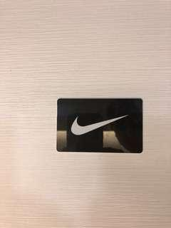 Nike Gift Card with 30$ Value!!!