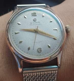 Vintage Cyma bumper watch