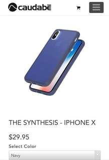 Caudabe -THE SYNTHESIS - IPHONE X (Casing) [ORIGINAL]