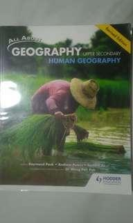 Secondary 3 Human Geography Revised Edition