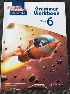 Free mail Pri 6 P6 Grammar Workbook Marshall Cavendish