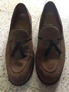 Zara Shoe Man, Tan color, Suede Size 40