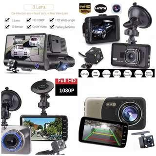 Ready Stock Car Dash Camera (Complete Set as Per Photo) - With Parking Mode Function