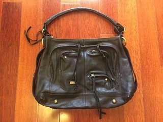 Marcs Black Leather Bag