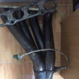 Ford Fiesta 1.6 Complete Exhaust System