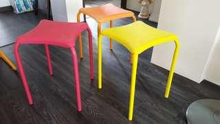 $4 for all the 3 Stools! Good condition!