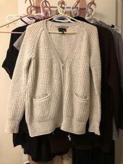 Aritzia Wilfred Wool Knit Cardigan