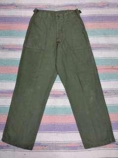 Vtg military pants 60s og 107