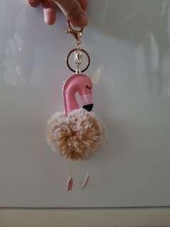 Flamingo Key Chain