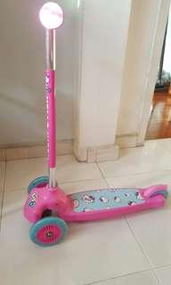 Kids Scooter hello kitty scooter