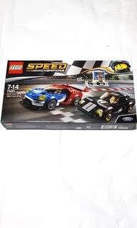 Lego 75881 Speed Champions 2016 Ford GT & 1966 Ford GT40