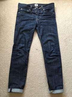 Edwin Jeans ED80 Red Listed Selvedge Raw Denim