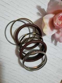Aldo- bangle bracelets