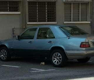 Mercedes benz 260E to letgo