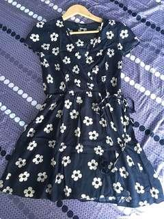 Dorothy Perkins faux wrap dress