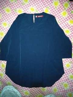 Tunik pendek Navy Blue