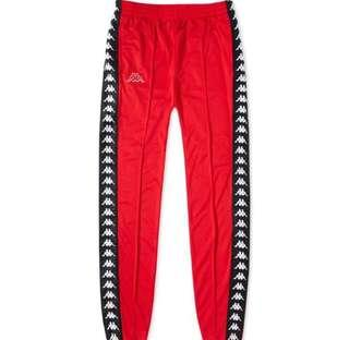RED KAPPA PANTS