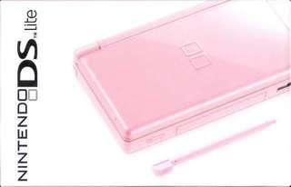 Pink Nintendo DS Lite in great condition + 4 FREE GAMES