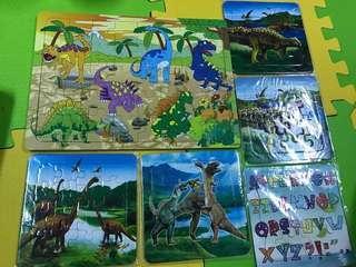 🚚 合售恐龍拼圖