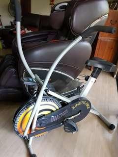 Kinetic stationary bike