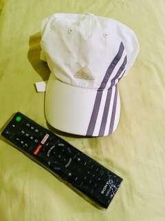 Preloved Adidas White Cap