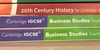 IGCSE Year 11 textbooks