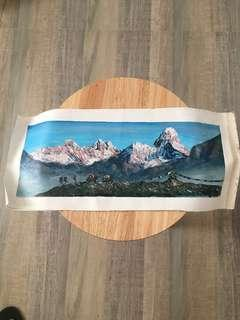 MT.EVEREST PAINTING