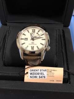 Orient Star Automatic Watch WZ0361EL