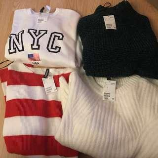 H&M Sweaters -Sz Large- New with tags
